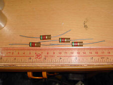 4 PIECES OF MADE IN JAPAN RIKEN OHM RM2 51K +/-5% 2W AUDIO GRADE CARBON RESISTOR