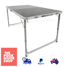 Camp Folding Camping Table Picnic Caravan, Easy transport & Compact Storage