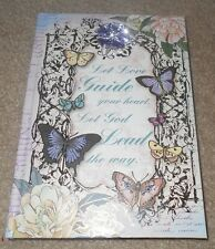Purple Lavender Let God Lead The Way Journal Diary Rhinestones