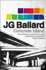 New CONCRETE ISLAND by J G BALLARD brand new pb book