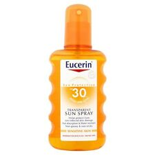 Eucerin Transparent Sun Spray Sensitive Skin SPF 30 Size 200ml Expires 11/2017
