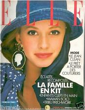 ▬►Elle 2257 (1989) JOANN_STEVIE WONDER_ _MODE FASHION PRÊT A PORTER COUTURIERS