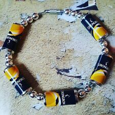 Unique STRONGBOW CANS BRACELET handcrafted CIDER apples PUB novelty FAB GIFT