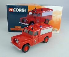 CORGI CORNWALL COUNTY FIRE BRIGADE LAND ROVER CLIFF RESCUE 07411 LTD EDITION