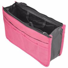 Pink Travel Bag Storage Case Zipper Organizer Hand Bag Makeup Cosmetic Toiletry