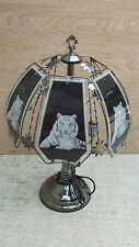 white tiger TOUCH LAMP