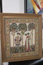 Tapisserie Flandre fresque maître de la Manta Godefroy de Bouillon Croisade