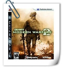 PS3 Call of Duty Modern Warfare 2 COD Sony Activision Shooting Games Bulk Pack