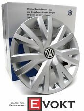 Volkswagen Golf 7 VII Wheel Hub Caps Set VW 16 Inch Wheel Trim Rings Genuine New