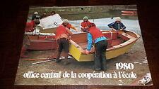CALENDRIER 1980 - Office Central de la coopération à l'école - Amis-Coop