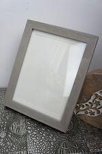 Bilderrahmen * Holz Wood * Grau * Shabby Chic Landhaus * Romantik * ca. 18x22cm
