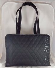 Mary Kay Consultant Black Quilted  laptop travel Shoulder Tote Bag