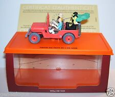 ATLAS MILITARY VOITURE JEEP WILLYS MB 1943 HERGE TINTIN AU PAYS DE L'OR NOIR BOX