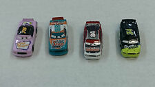 Lot of 4 Disney Cars toys - rubber wheels !!