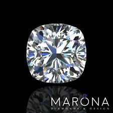 5.01 carat CUSHION cut DIAMOND - D color SI2 clarity - EGL certified