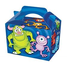 9 Monster Party Boxes - Food Loot Lunch Cardboard Gift Kids weight takeaway
