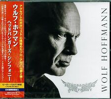 WOLF HOFFMANN HEADBANGER'S SYMPHONY 2014 JAPAN CD - ACCEPT GUITARIST - BRAND NEW