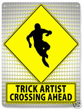 ROLLER SKATER street sign EXTREME X GAMES MANCAVE retro BOYS room wall decor 514