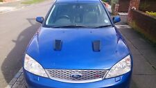 FOCUS RS MK2 STYLE ABS PLASTIC BONNET VENTS *FORD PROFILE* PEUGEOT 204/205/206