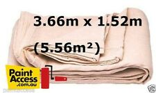Paint Drop Sheet Oldfields Heavy Duty Painter's Canvas Cloth 5' x 12' 1.52x3.66m