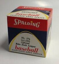SPALDING OFFICIAL BABE RUTH LEAGUE BASEBALL No. 174 41-129 SEALED MINT