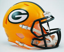 GREEN BAY PACKERS NFL Riddell SPEED Mini Football Helmet