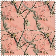 Real Tree Cotton Prints - Pink Camouflage