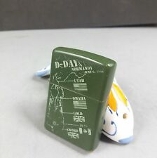 Zippo World War 2 D-Day Normandy 1944 Limited Edition Lighter WWII RARE NR