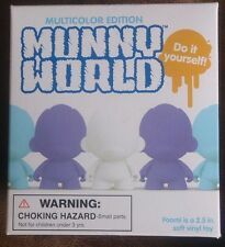"Kidrobot DIY 2.5"" Micro Trikky Vinyl Toy Munny World cat NEW & Sealed"