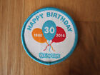 Scout Beaver 30th Birthday Badge (5.5cm)
