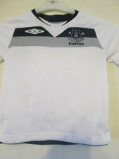 Everton 2008-2009 Away and Shorts Football Shirt Size 4-5 Years /35308
