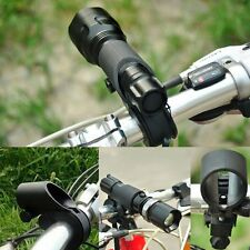 Bike Cycle Bracket Holder Bicycle Light Front LED Cree Torch Flashlight Mount