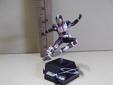 """#A345 Kamen Rider Anime 4""""in Black, Red & Silver Uniform Doing Kick in Air"""