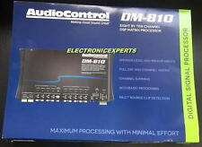 AUDIOCONTROL DM-810 8 channel Digital Signal Processor Ultimate EQ Crossover NEW