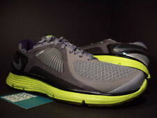 Nike LUNARECLIPSE + STEALTH GREY CHROME BLACK ANTHRACITE VOLT 408582-001 NEW 9.5