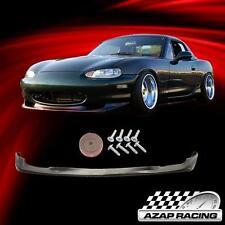 2001-2005 PU Polyurethane GV Style Front Bumper Lip Spoiler for Mazda Miata MX-5