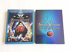 Snow White and the Seven Dwarfs Blu-Ray + Steelbook Best Buy Exclusive! OOS/OOP!