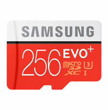 256GB micro SD SDXC Evo Class 10 UHS-I 48MB/s TF Memory Card 256G Galaxy A001