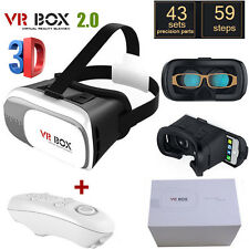 Google Cardboard 2nd VR BOX Virtual Reality 3D Glasses Bluetooth Remote Con