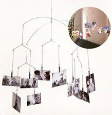 Kikkerland MH16 Original Modern Art Photo Clip HANGING Mobile 10 Clip/20 picture