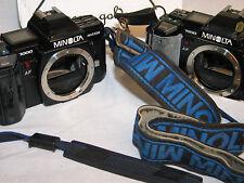 2 TWO MINOLTA MAXXUM 7000 AF 35mm SLR CAMERAS