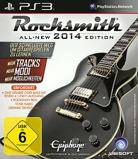 Rocksmith 2014 Edition Sony PlayStation 3 PS3 All new 2014 NEU & OVP