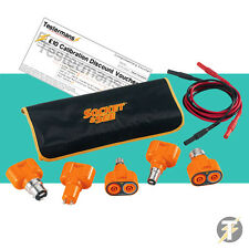 Socket & See LTKIT10 Lamp Test Adaptor Kit/Light Testing Kit - Fluke, Megger