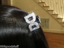 New Gorgeous Hair Clip Claw w Shinny Swarovski Crystals Hair Accessories