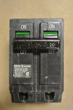 GE THQL2120 Plug on 2P 240V 20A Circuit Breaker - LOT OF 10 - OLDER STYLE