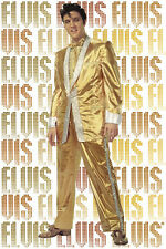 ROCK MUSIC POSTER Elvis Presley Pure Gold