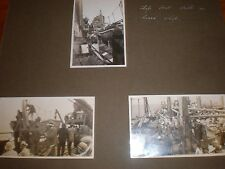 Old photos life boat drill on ocean steamer liner 1930s