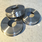 3x Stainless Steel Rust Proof Soap Pump Dispenser *Lid Adapters* for Mason Jars