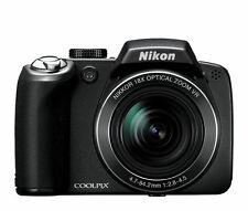 Nikon COOLPIX P80 10.1 MP Digital Camera - Black - Nikon Factory refurbished