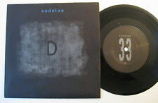 "7"" Codeine - D / Pea / Second Chance - mint- Sub Pop"
